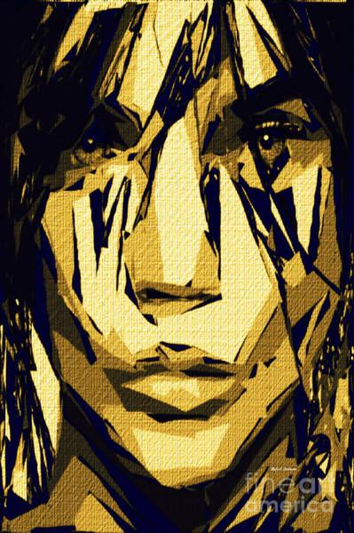 Digital Art - Female Expressions Xlvi by Rafael Salazar
