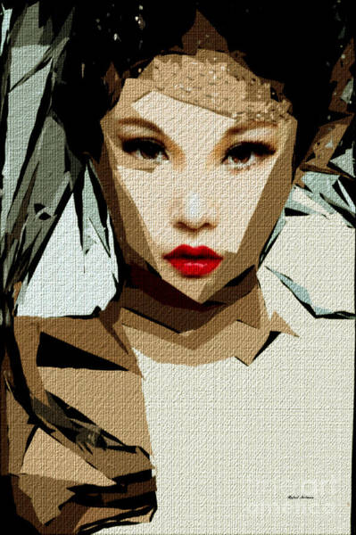 Digital Art - Female Expressions Xlvix by Rafael Salazar