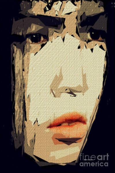 Digital Art - Female Expressions Xxiv by Rafael Salazar