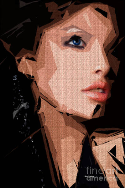 Digital Art - Female Expressions Xxix by Rafael Salazar