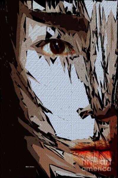 Digital Art - Female Expressions Xxvi by Rafael Salazar