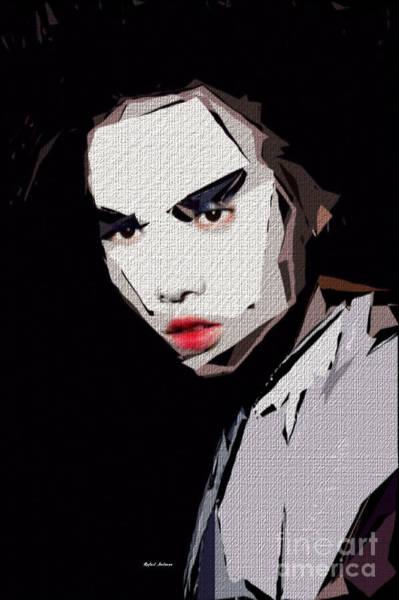 Digital Art - Female Expressions Xxvii by Rafael Salazar