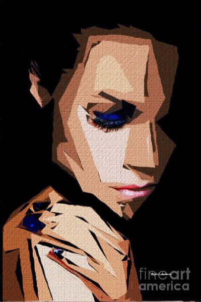 Digital Art - Female Expressions Xxx by Rafael Salazar