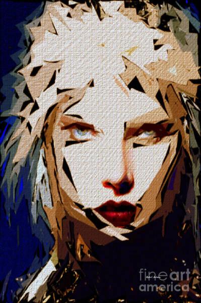 Digital Art - Female Expressions Xxxviii by Rafael Salazar