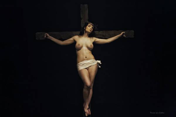 Female Jesus Art Print