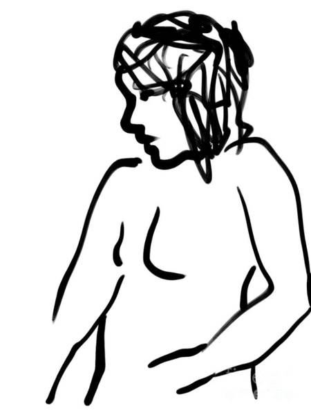 Digital Art - Female Nude by Paul Ramnora