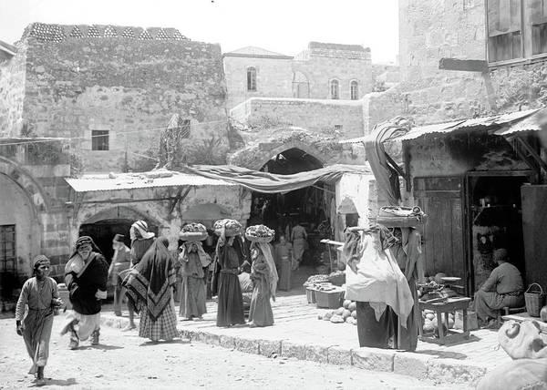 Damascus Photograph - Female Vendors by Munir Alawi