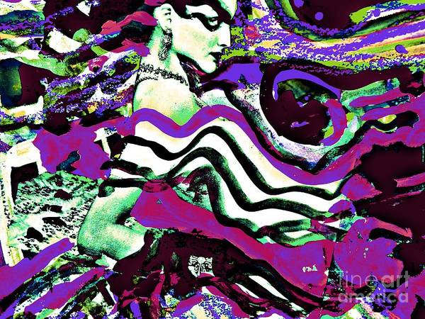 Painting - Femme-fatale-27 by Katerina Stamatelos