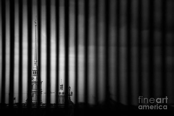 Photograph - Fence #9940 by Andrey Godyaykin