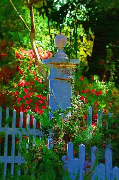 Photograph - Fencepost by Donna Bentley