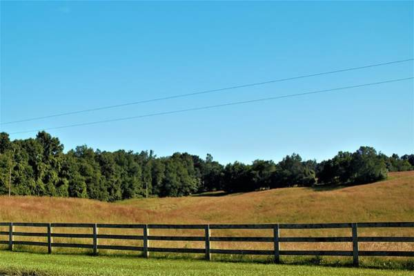 Photograph - 6003 - Fences And Farmland by Sheryl Sutter