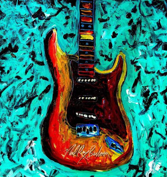 Painting - Fender Delight by Neal Barbosa