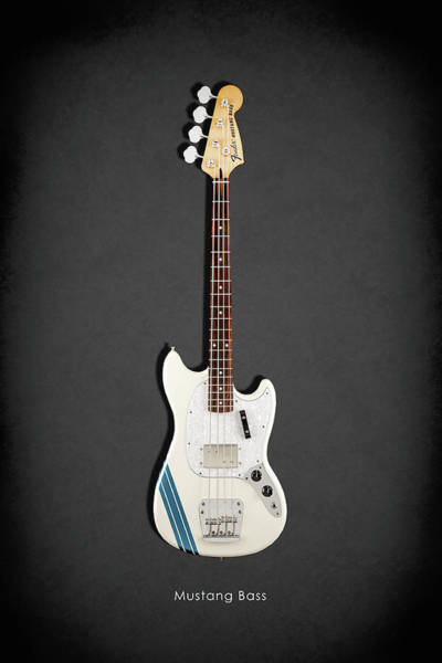 Wall Art - Photograph - Fender Mustang Bass by Mark Rogan