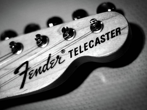 Wall Art - Photograph - Fender Telecaster by Mark Rogan