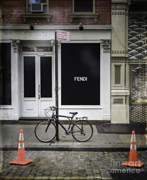 Photograph - Fendi Bicycle by Craig J Satterlee