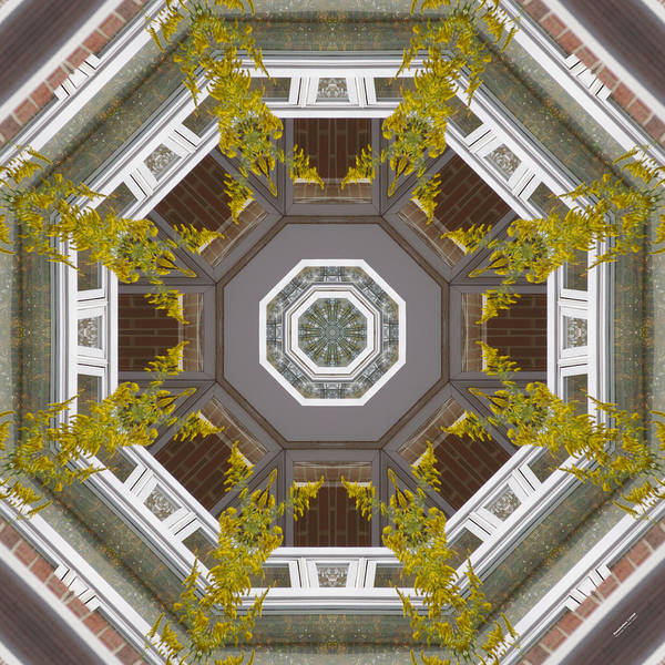 Digital Art - Fenestration 1104 by Brian Gryphon