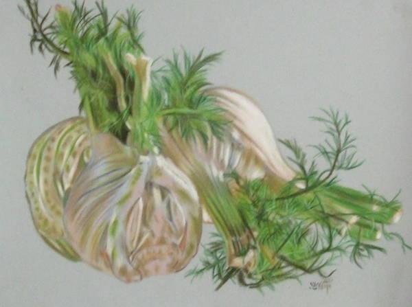 Pastel - Fennel by Barbara Keith