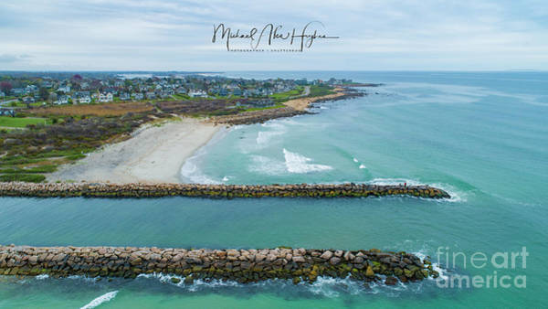 Photograph - Fenway Beach, Weekapaug by Michael Hughes
