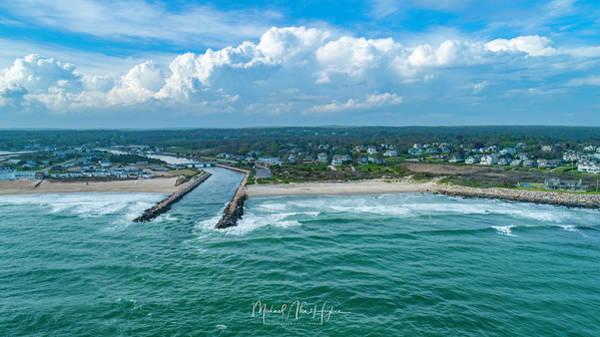 Photograph - Fenway Beach, Weekapaug,ri by Michael Hughes
