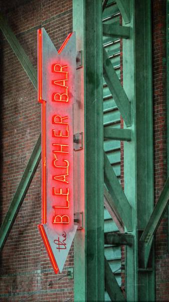 Fenway Photograph - Fenway Park Bleacher Bar - #1 by Stephen Stookey
