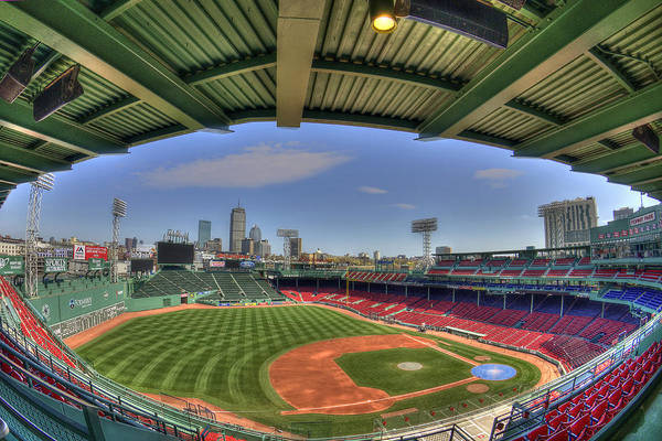 Photograph - Fenway Park Interior  by Joann Vitali