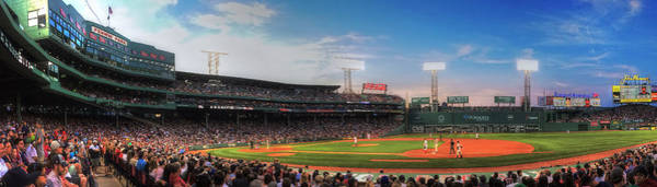 Photograph - Fenway Park Panoramic - Boston by Joann Vitali