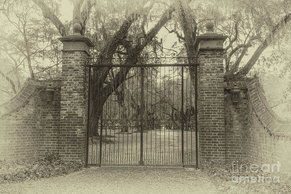 Photograph - Fenwick Hall Main Entrance by Dale Powell