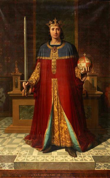Painting - Ferdinand IIi Of Castile by Carlos Mugica y Perez