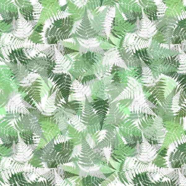 Mixed Media - Fern Leaf Pattern by Christina Rollo