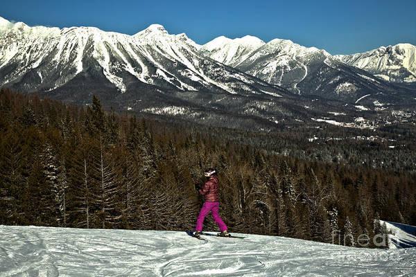 Photograph - Fernie Skier by Adam Jewell