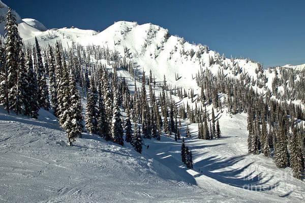 Photograph - Fernie Snowy Ridge by Adam Jewell