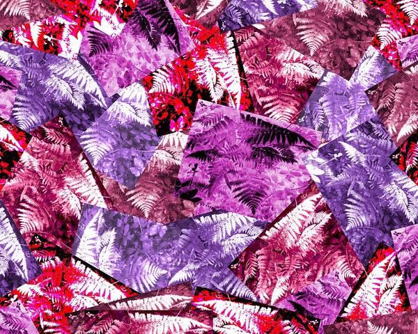 Photograph - Ferns Patchwork by Julia Woodman