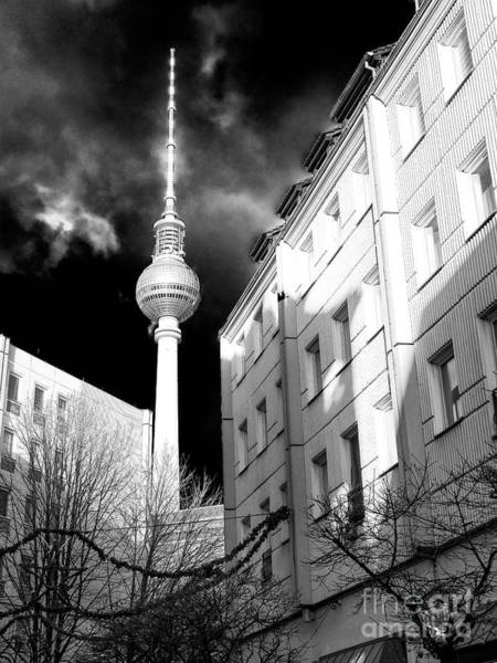 Wall Art - Photograph - Fernsehturm Glow In Berlin by John Rizzuto