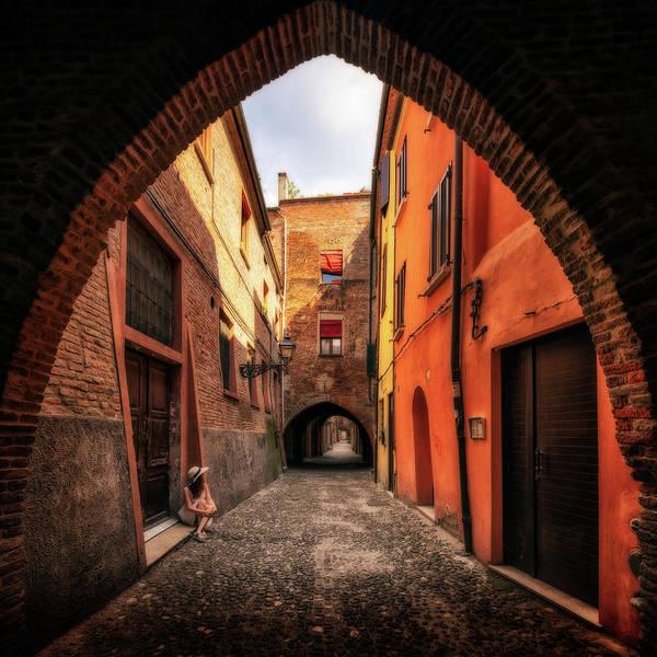 Photograph - Ferrara In Summer - Italy by Nico Trinkhaus