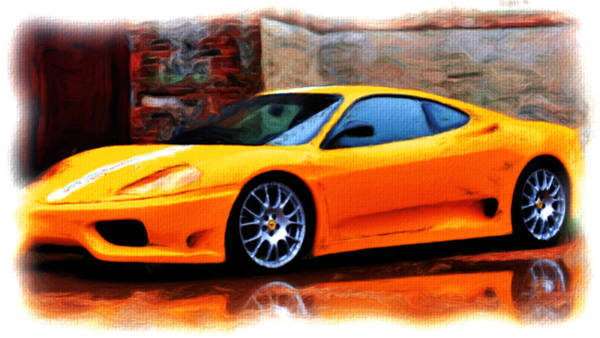 F430 Painting - Ferrari 05a by Brian Reaves