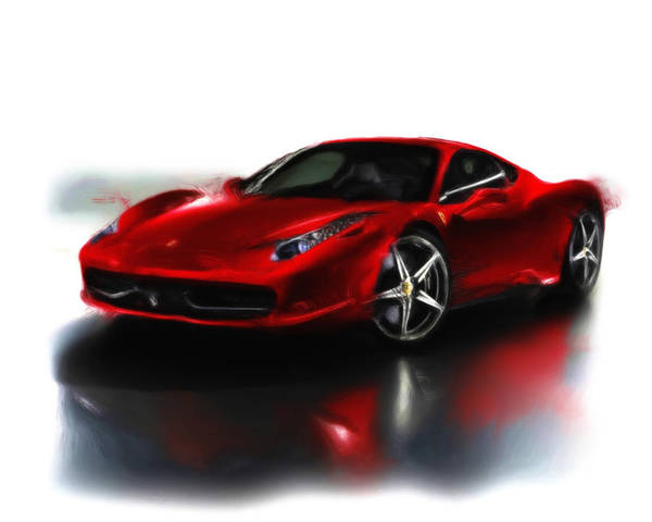 F430 Painting - Ferrari 08a by Brian Reaves