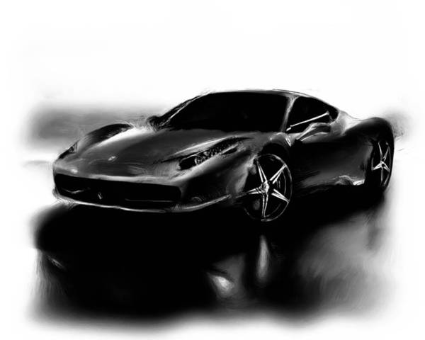 F430 Painting - Ferrari 10a by Brian Reaves