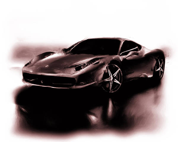 F430 Painting - Ferrari 11a by Brian Reaves