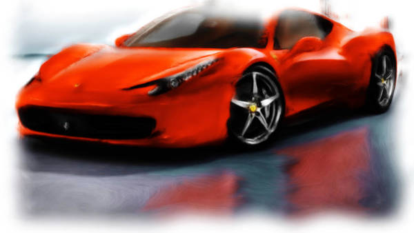 F430 Painting - Ferrari 12a by Brian Reaves