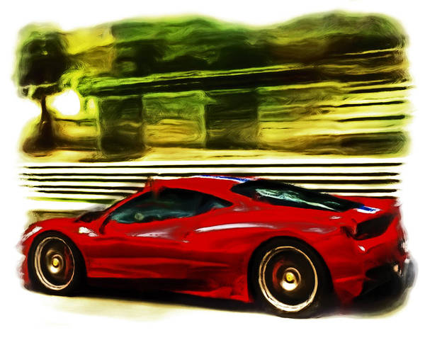 F430 Painting - Ferrari 13a by Brian Reaves
