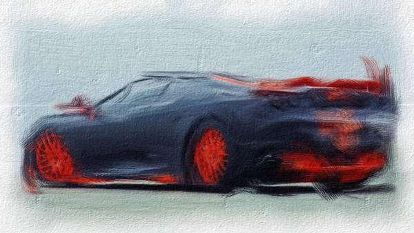 F430 Painting - Ferrari 14a by Brian Reaves
