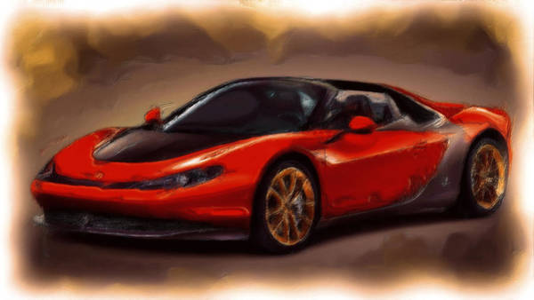 F430 Painting - Ferrari 15a by Brian Reaves