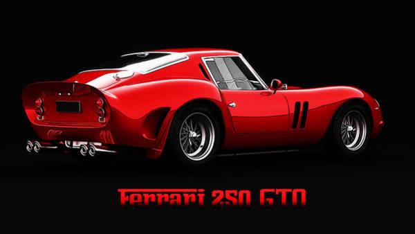 Painting - Ferrari 250 Gto - 2 by Andrea Mazzocchetti