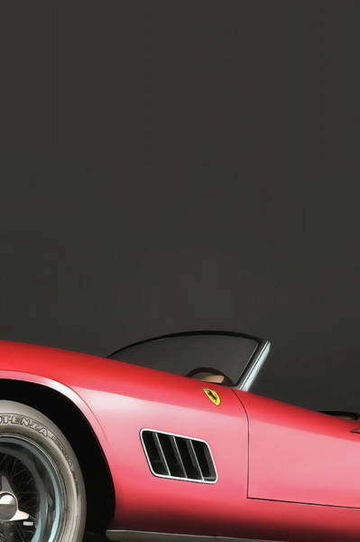 Digital Art - Ferrari 250gt by Jan Keteleer