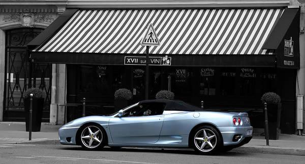 Photograph - Ferrari 3 by Andrew Fare