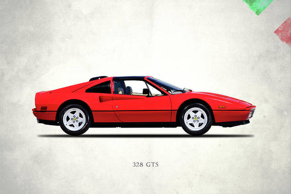 Wall Art - Photograph - Ferrari 328 Gts 1987 by Mark Rogan
