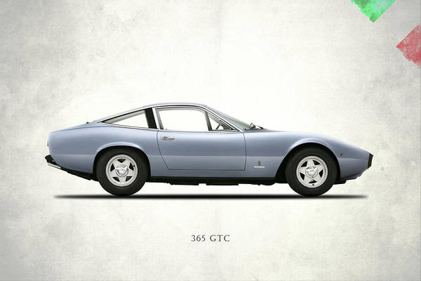 Wall Art - Photograph - Ferrari 365 Gtc-4 by Mark Rogan