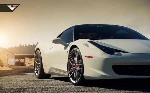 458 Digital Art - Ferrari 458 Italia   Vorsteiner V Ff 105 Wheels4 by Mery Moon