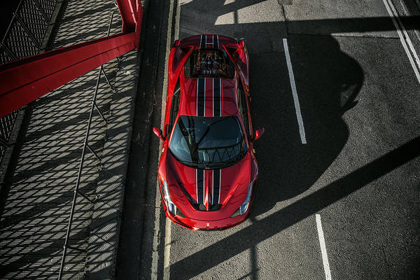458 Photograph - Ferrari 458 Speciale by George Williams