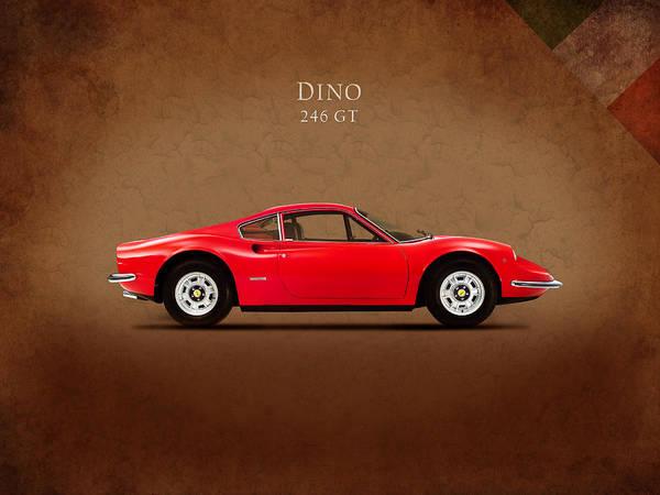 Vintage Ferrari Photograph - Ferrari Dino 246 Gt by Mark Rogan